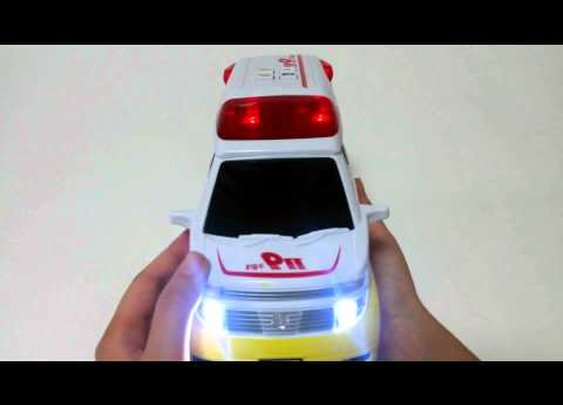 출동119구급대 Ambulance Car (Fire&Rescue) 4 Button & Sound effect Friction Action Flashing Light TOYBELL - YouTube