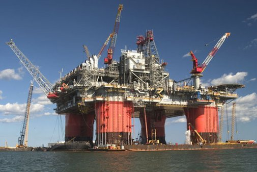 World's largest offshore oil platform! Awesome!