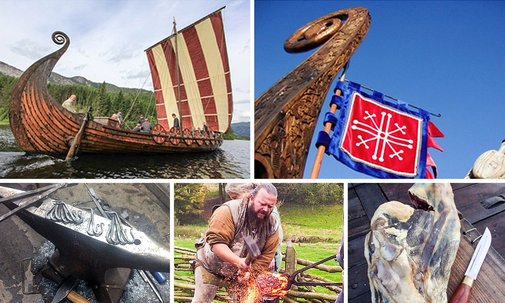 Axe throwing, sword forging – but no sacrificing – at Norway's Viking school | World news | The Guardian