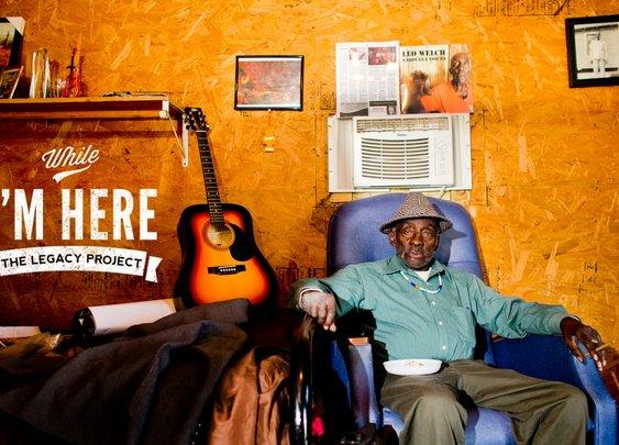 "83-Year-Old Mississippi Bluesman Leo ""Bud"" Welch"