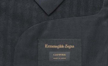 Zegna creates 'Made in Japan' limited edition collection.
