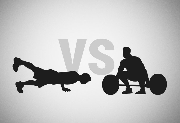 Bodyweight Training Vs Equipment