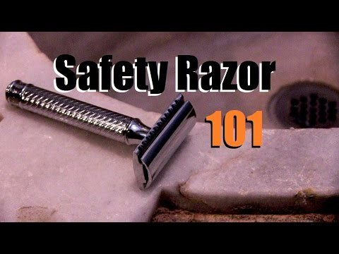 Safety Razor 101   How to Use a Double Edged Safety Razor / I Am Alpha M