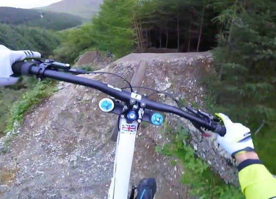 Craziest Mountain Bike Trail Ever.