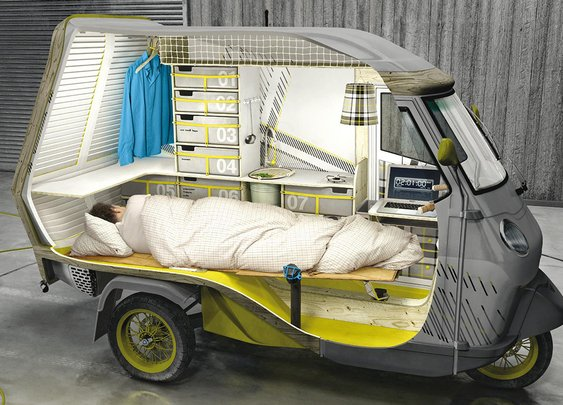 BUFALINO CAMPING SCOOTER CONCEPT