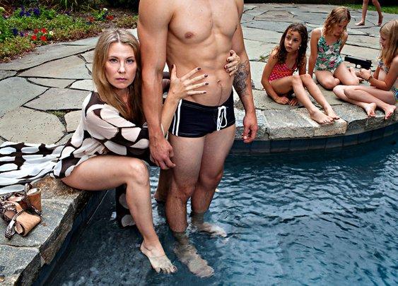 Mother Takes Darkly Humorous & Controversial Family Photos