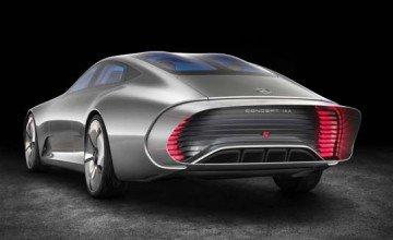 The Future is here: Mercedes-Benz Concept IAA (Intelligent Aerodynamic Automobile)