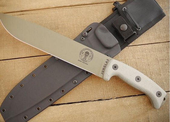 ESEE Junglas Dark Earth Knife - Men's Gear