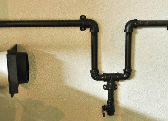 This Project is Easier Than You Think - Wall-Mounted Air Compressor Lines