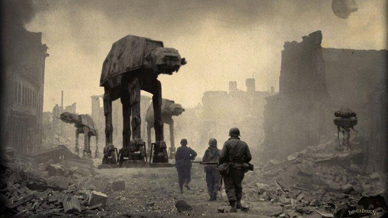 Star Wars WWII Prints