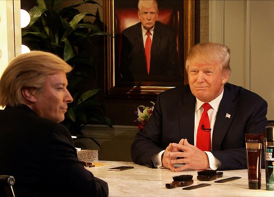 Donald Trump Interviews Himself In the Mirror - YouTube
