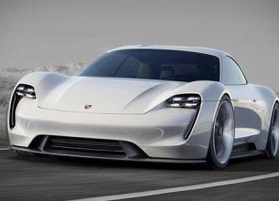 Porsche Mission E electric sports car concept
