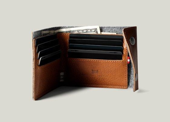 Hard Graft Snap Wallet Classic | Bonjourlife