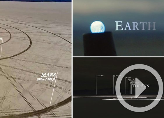First Timelapse of the Solar System to Scale - This is Awesome!