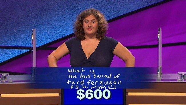 'Jeopardy!' Contestant Gets Alex Trebek To Say Turd Ferguson