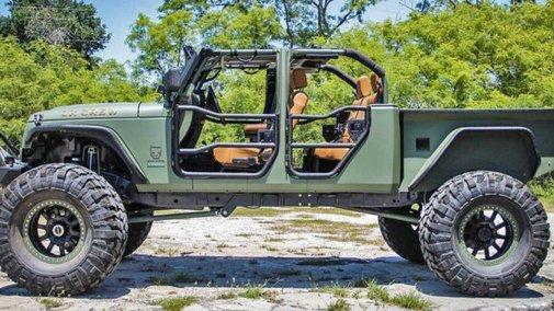 $180,000 Jeep Wrangler Pickup Truck