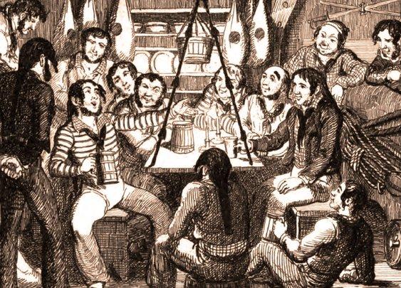A Brief History of Drunken British Sailors   MUNCHIES