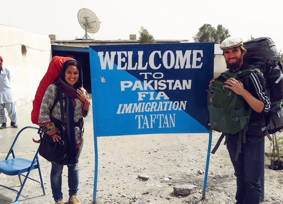 Hitchhiking to Pakistan