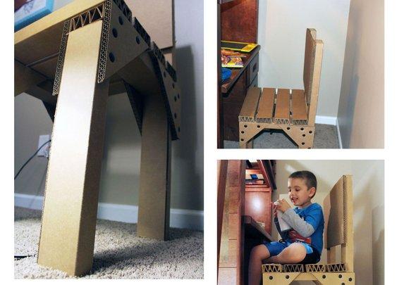 Alta™ Board Cardboard Chair