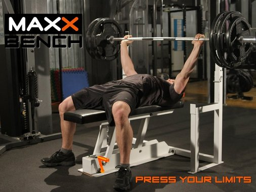 MAXX BENCH: First Ever Gravity Release Bench Press - YouTube