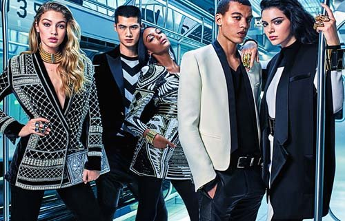 First Look at Balmain x H&M's Campaign