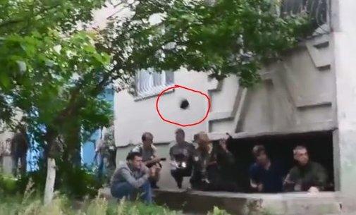 Rebel Gets Hat Shot Off BySniper