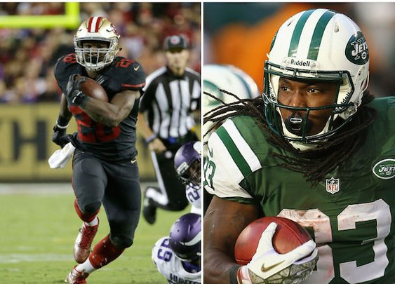 Less Than Popular Running Backs Who Could Shine In 2015