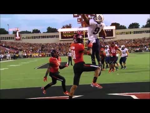 TCU Game winning touchdown catch Vs. Texas Tech - YouTube