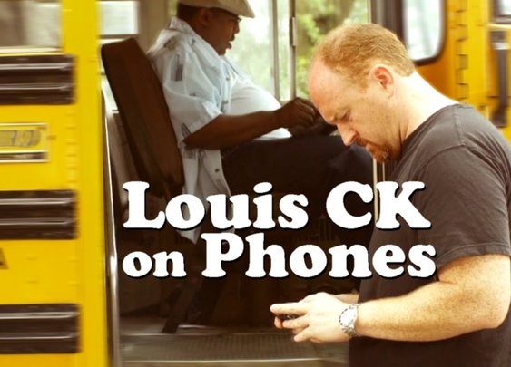 Louis CK on Cellphones