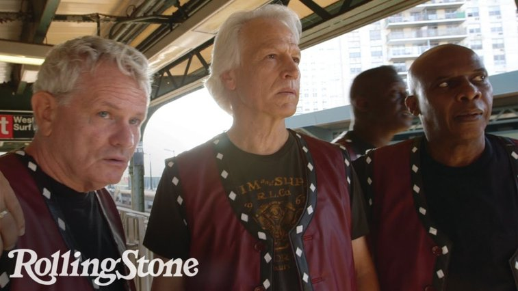 Actors From the 1979 Cult Film 'The Warriors' Take One Last Subway Ride Back to Coney Island Together