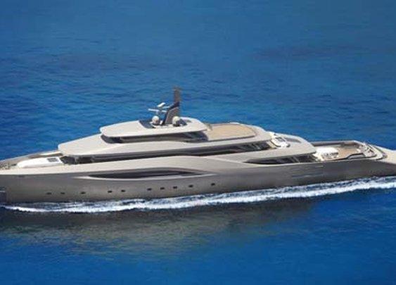 Ottantacinque Luxury Motor Yacht by Pininfarina