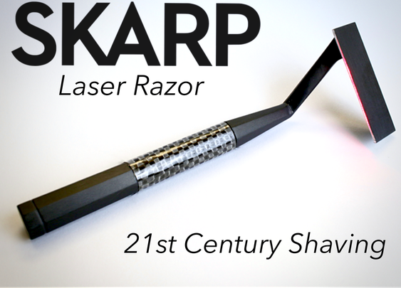 The Skarp Laser Razor: 21st Century Shaving by Skarp Technologies — Kickstarter