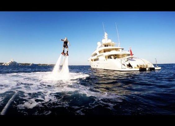 mega yacht nassima - inspire 1 drone aerial HD - YouTube
