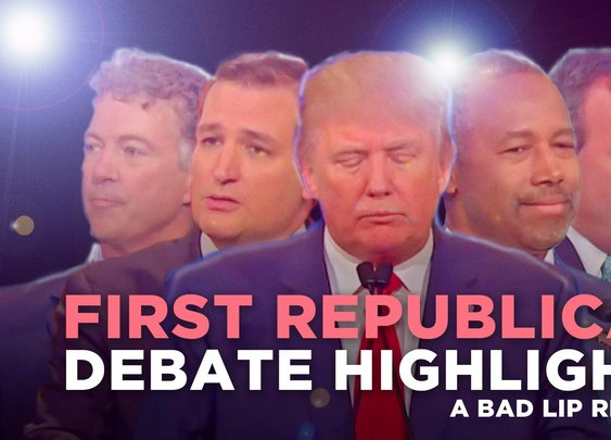 Bad Lip Reading of The First Republican Debate 2015