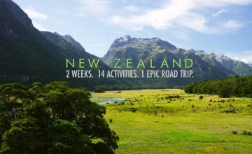 The Ultimate Road Trip Through New Zealand In 4K