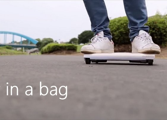 "World's First ""Car In a Bag"" Made by Japanese Engineers"