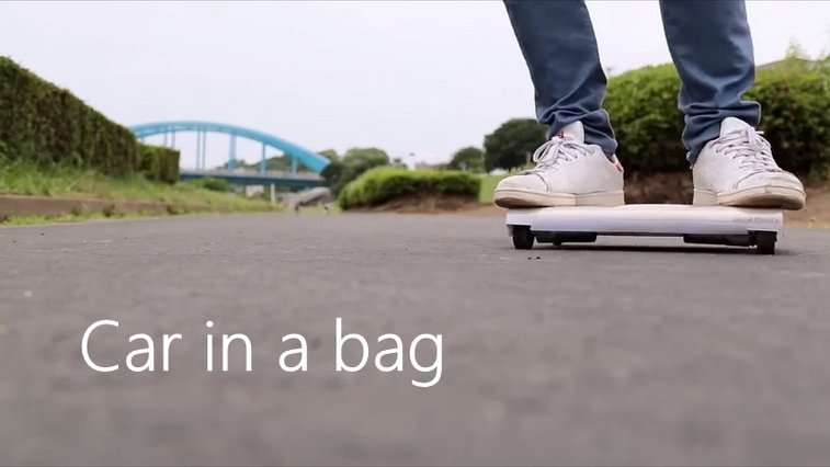 """World's First """"Car In a Bag"""" Made by Japanese Engineers"""