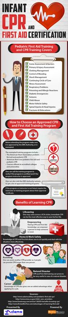 Infant CPR and First Aid Training program: A lifetime of advantages