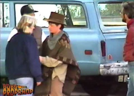 Back To The Future III - Behind the Scenes Home Video from the Neighbor's House