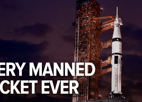 All the rockets that have carried humans to space in history