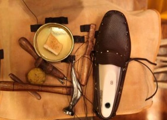 Watch the Making of a Car Shoe Moccasin