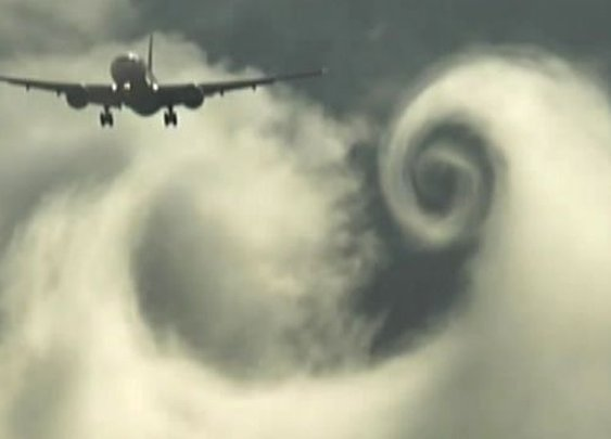 Jets whip clouds into mesmerizing vortexes | Fox News Video