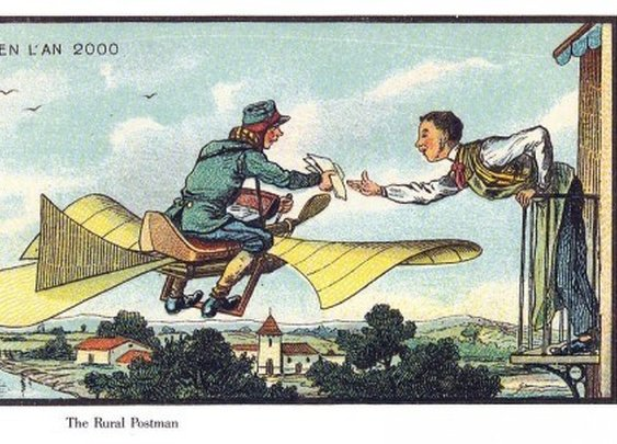 What people in 1900 thought the year 2000 would look like