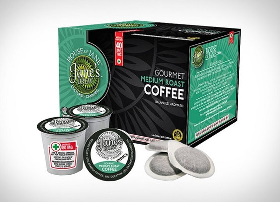 Jane's Brew Cannabis Infused Coffee