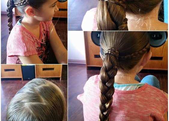 Single Dad Creates Class to Help Teach Other Fathers How to Style Their Daughters' Hair
