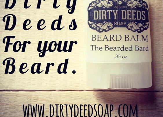 Beard Balm by DirtyDeedsSoaps on Etsy