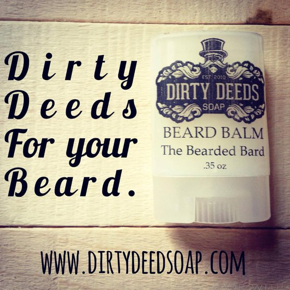 Beard Balm by DirtyDeedsSoaps on Etsy