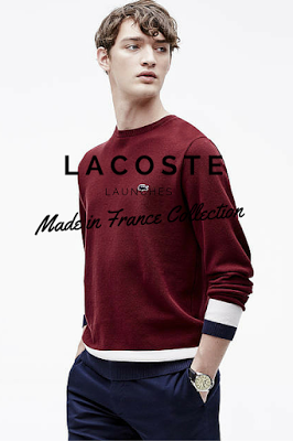 Lacoste Launches Made in France Capsule Collection