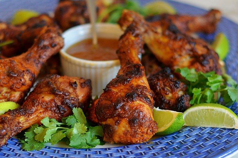 Crispy Tandoori Chicken Drumsticks