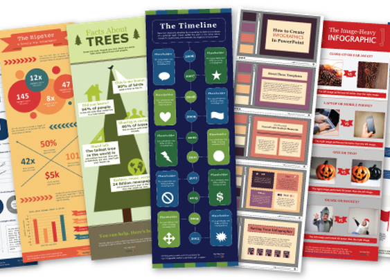 Ten Free Infographic Templates